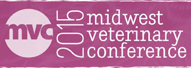 Midwest Veterinary Conference on February 18 - 21, 2015, Exhibit #308-310